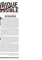 Entendre les artistes - La Fabrique du possible - Numéro d'octobre 2014