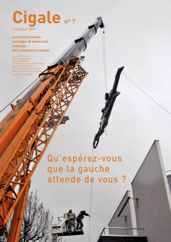 Cigale n°7 / Juillet 2010